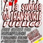 Concentración frente al Consorcio Regional de Transportes de la Comunidad de Madrid