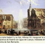 Inauguración del Canal en Bravo Murillo