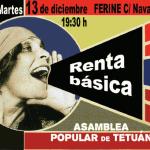 Charla sobre Renta Básica en Ferine