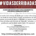 Vecinas contra la gentrificación. Coloquio en torno a lucha contra el derribo Ofelia Nieto 29