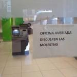 Ridículo espantoso de Bankia. Cierran dos sucursales e impiden entrada a los clientes para evitar recibirnos