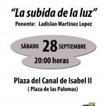 """Charla - Debate """"La Subida De La Luz"""""""