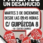 Stopdesahucios este martes 9:45 C/Guipúzcoa, 8. (DESCONVOCADO)