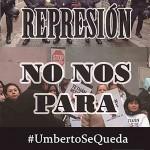 #UmbertoSeQueda, segundo asalto. Lunes 9, 7:00, C/ Guzmanía 7